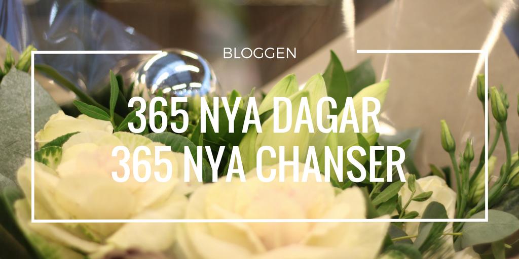 365 nya dagar. 365 nya chanser