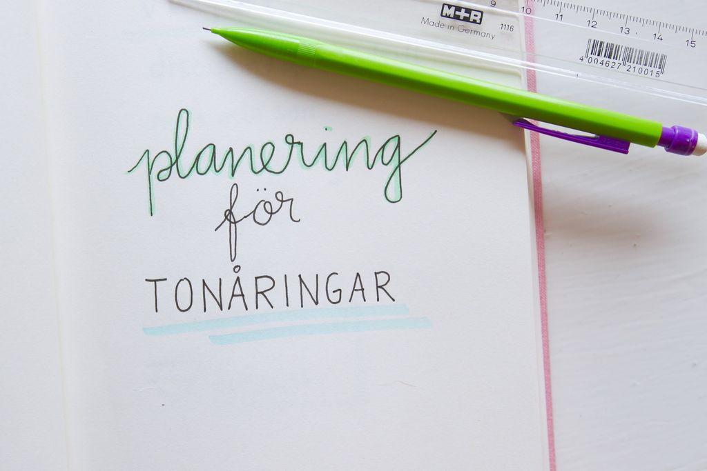 Planering för tonåringar