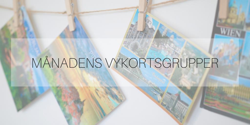 Månadens vykortsgrupper