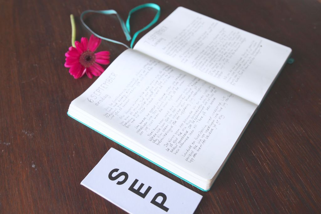 skriva på morgonen