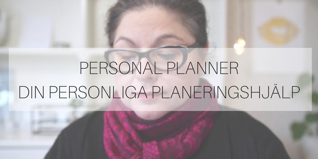 Personal Planner - din personliga planeringshjälp