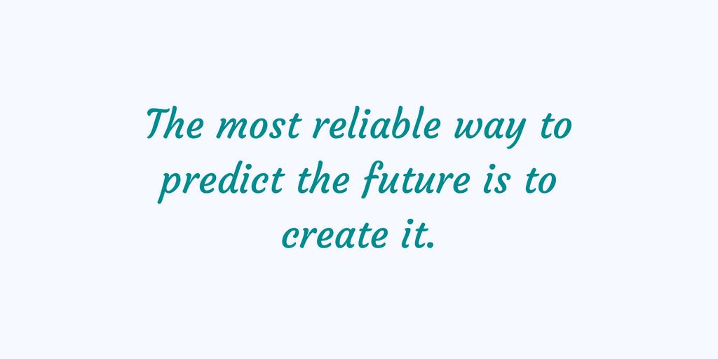 Framtiden är din att fånga, den är din om du vill ha den