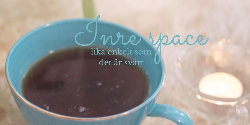 Inre space – lika enkelt som det är svårt