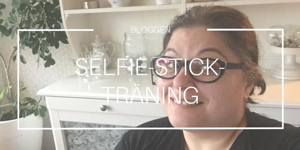 Om att förstå sig på en selfie-stick