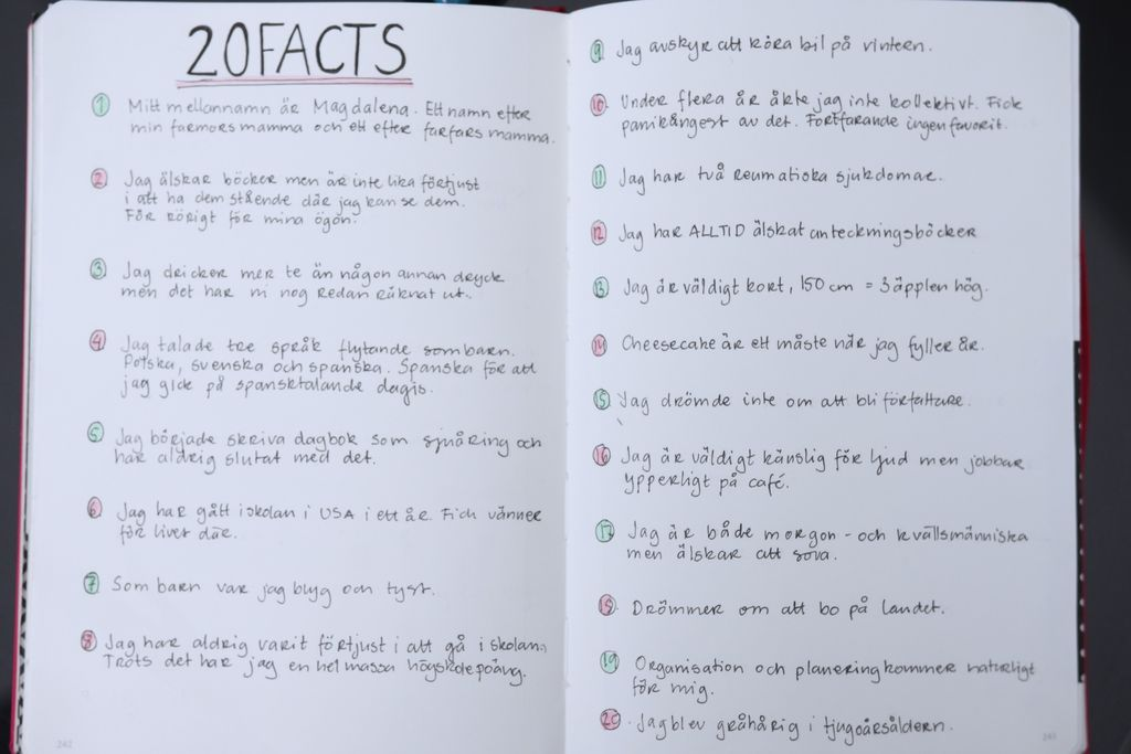 20 facts