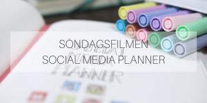 Söndagsfilmen: Social Media Planner