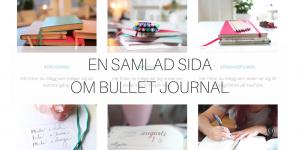 En samlad sida om Bullet Journal