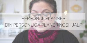 Personal Planner – din personliga planeringshjälp