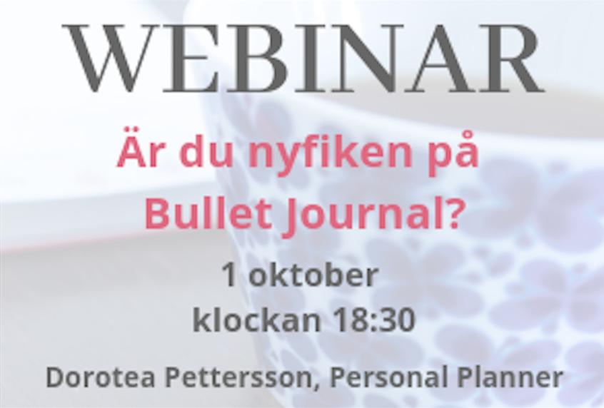 Är du nyfiken på Bullet Journal?