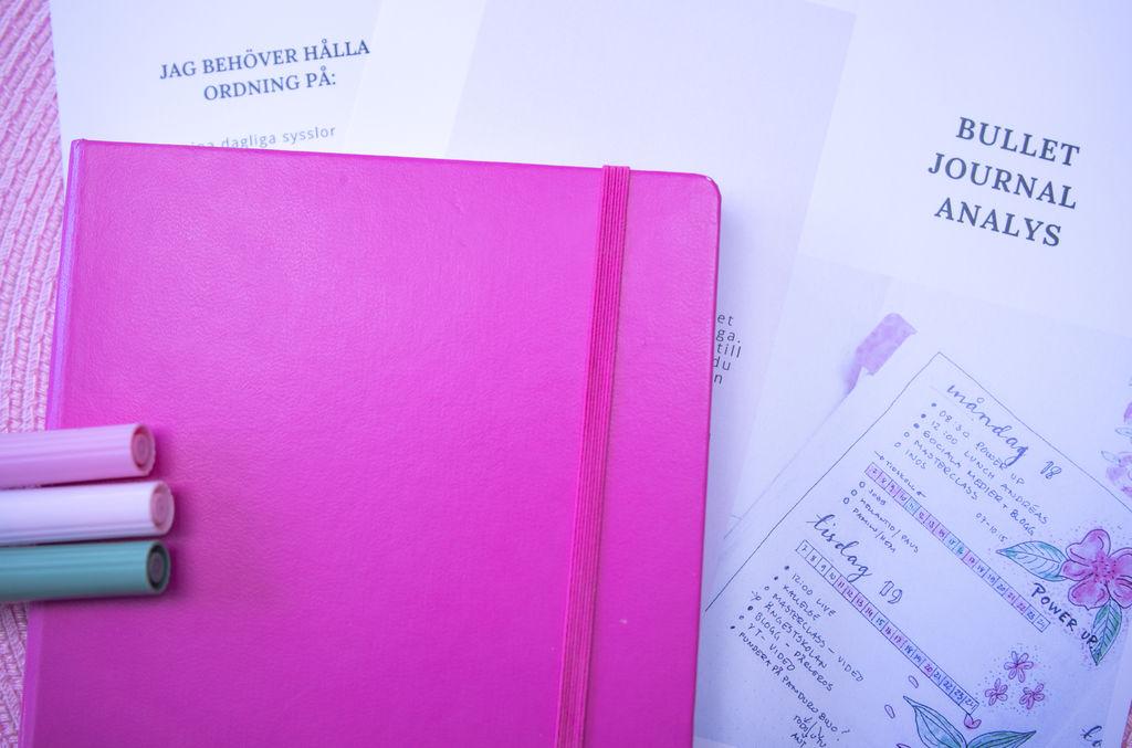 Rätt innehåll i din Bullet Journal