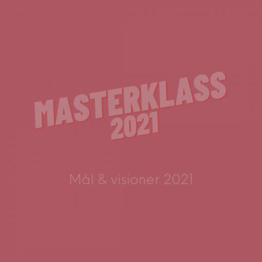MasterKlass2021 - Inspelning